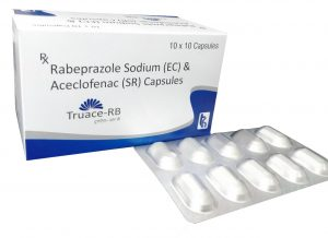 Aceclofenac Rabeprazole Capsules Manufacturers Suppliers