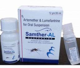 artemether and lumafantrine