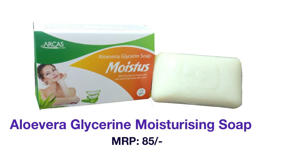 Vit  E Glycerine Aloevera Moisturising Soap Manufacturers