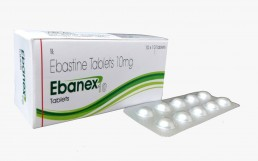 Ebastine 10mg Tablets Manufacturers Suppliers