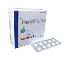 Ramipril 2.5mg Tablets Manufacturers Suppliers