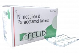 Nimesulide Paracetamol Tablets Manufacturers Suppliers