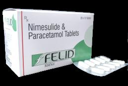 Nimesulide Paracetamol Tablets Manufacturers Suppliers