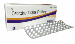 Cetirizine Tablets Manufacturers Suppliers