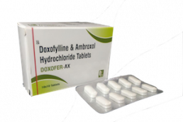 Doxofylline Ambroxol tablets Manufacturers Suppliers