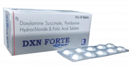 Doxylamine Pyridoxine Folic Acid Tablets Manufacturers Suppliers