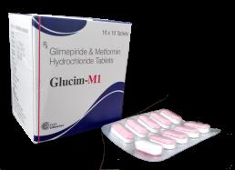 Glimepiride Metformin Tablets Manufacturers Suppliers