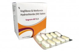 Voglibose Metformin Tablets Manufacturers Suppliers