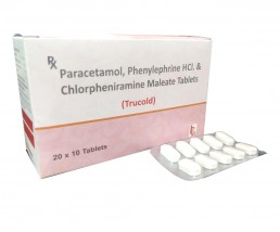 Paracetamol Phenylephrine Chlorpheniramine Anticold Tablets Manufacturers Suppliers